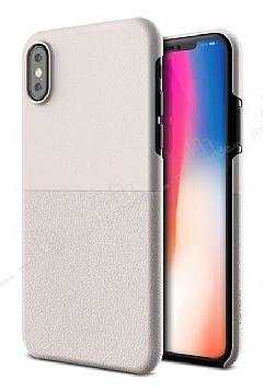 VRS Design Skin Fit iPhone X Light Pebble Kılıf