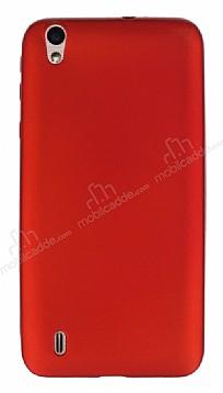 Vestel Venus 5530 Mat Kırmızı Silikon Kılıf