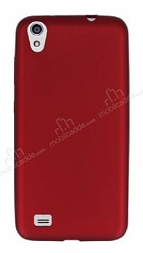 Vestel Venus V3 5040 Mat Kırmızı Silikon Kılıf