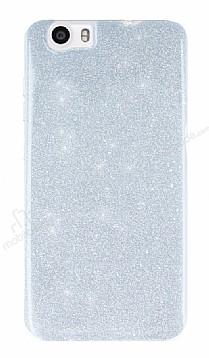 Vestel Venus V3 5070 Simli Silver Silikon Kılıf