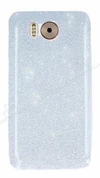 Vestel Venus V3 5580 Simli Silver Silikon Kılıf