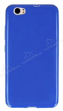 Vestel Venus Z10 Ultra İnce Mavi Silikon Kılıf