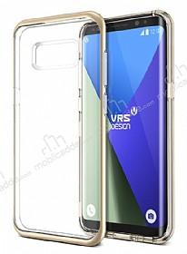 VRS Design Crystal Bumper Samsung Galaxy S8 Shine Gold Kılıf