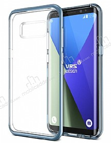 VRS Design Crystal Bumper Samsung Galaxy S8 Plus Blue Corel Kılıf
