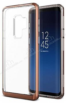 VRS Design Crystal Bumper Samsung Galaxy S9 Plus Blush Gold Kılıf