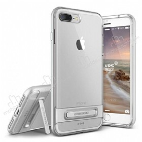 VRS Design Crystal Bumper iPhone 7 Plus Silver Kılıf