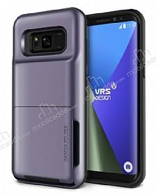 VRS Design Damda Folder Samsung Galaxy S8 Plus Orchid Grey Kılıf