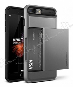 VRS Design Damda Glide iPhone 7 Plus Steel Silver Kılıf