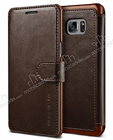 VRS Design Dandy Layered Leather Samsung Galaxy Note 7 Kahverengi Kılıf