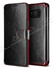 VRS Design Dandy Layered Leather Samsung Galaxy S8 Siyah Kılıf