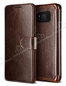 VRS Design Dandy Layered Leather Samsung Galaxy S8 Kahverengi Kılıf