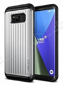 VRS Design Hard Drop Waved Samsung Galaxy S8 Light Silver Kılıf