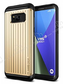 VRS Design Hard Drop Waved Samsung Galaxy S8 Plus Shine Gold Kılıf