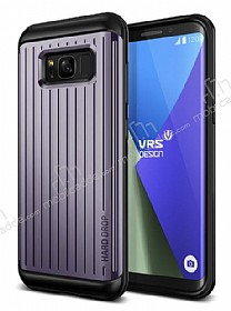 VRS Design Hard Drop Waved Samsung Galaxy S8 Plus Orchid Grey Kılıf