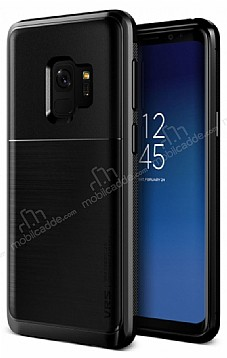 VRS Design New High Pro Shield Samsung Galaxy S9 Metal Black Kılıf
