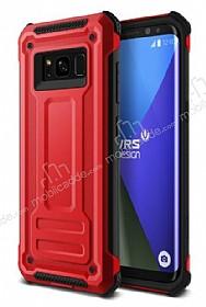 VRS Design Terra Guard Samsung Galaxy S8 Crimson Red Kılıf