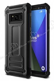 VRS Design Terra Guard Samsung Galaxy S8 Dark Silver Kılıf