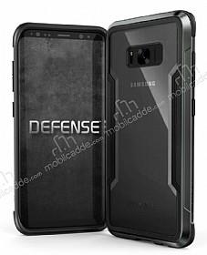 X-Doria Clear Samsung Galaxy S8 Ultra Koruma Siyah Kılıf