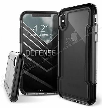X-Doria Defense Clear iPhone X Ultra Koruma Siyah Kılıf