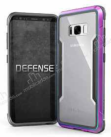 X-Doria Defense Shield Samsung Galaxy S8 Plus Ultra Koruma Mor Kılıf