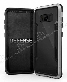 X-Doria Defense Shield Samsung Galaxy S8 Plus Ultra Koruma Silver Kılıf