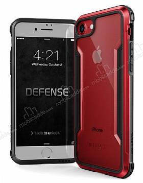 X-Doria Defense Shield iPhone 7 / 8 Ultra Koruma Kırmızı Kılıf