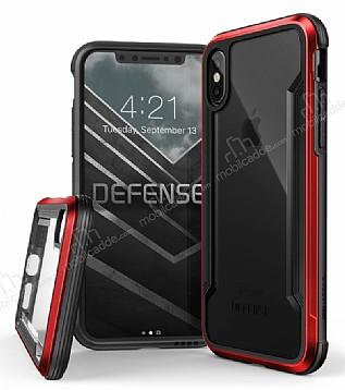 X-Doria Defense Shield iPhone X / XS Ultra Koruma Kırmızı Kılıf
