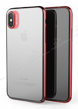 X-Doria Engage iPhone X Kırmızı Rubber Kılıf