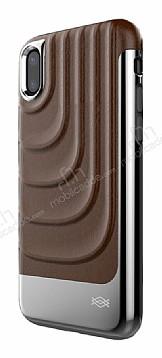 X-Doria Spartan iPhone X Ultra Koruma Kahverengi Kılıf