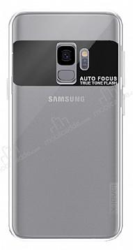 X-Level Samsung Galaxy S9 Şeffaf Beyaz Silikon Kılıf