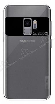 X-Level Samsung Galaxy S9 Şeffaf Siyah Silikon Kılıf