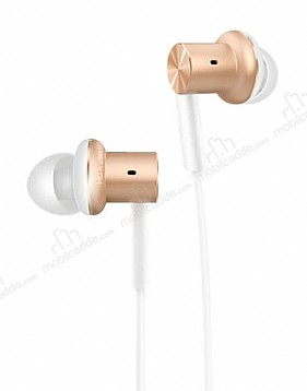 Xiaomi Hybrid HD Metal Piston Gold Kulakiçi Mikrofonlu Kulaklık