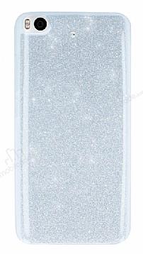 Xiaomi Mi 5s Simli Silver Silikon Kılıf