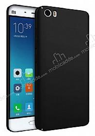 Xiaomi Mi 5s Tam Kenar Koruma Siyah Rubber Kılıf