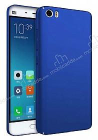 Xiaomi Mi 5s Tam Kenar Koruma Lacivert Rubber Kılıf