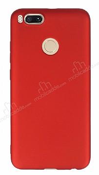 Xiaomi Mi 5X / Mi A1 Mat Kırmızı Silikon Kılıf