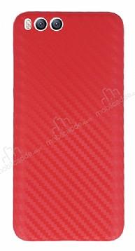 Xiaomi Mi 6 Ultra İnce Karbon Kırmızı Kılıf