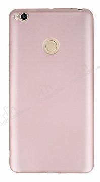 Xiaomi Mi Max 2 Mat Rose Gold Silikon Kılıf