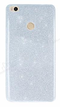 Xiaomi Mi Max 2 Simli Silver Silikon Kılıf