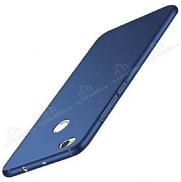 Xiaomi Redmi 4X Tam Kenar Koruma Lacivert Rubber Kılıf