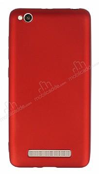 Xiaomi Redmi 4A Mat Kırmızı Silikon Kılıf