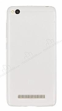 Xiaomi Redmi 4A Ultra İnce Şeffaf Silikon Kılıf