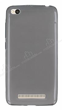 Xiaomi Redmi 4A Ultra İnce Şeffaf Siyah Silikon Kılıf