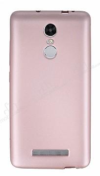 Xiaomi Redmi Note 3 Mat Rose Gold Silikon Kılıf