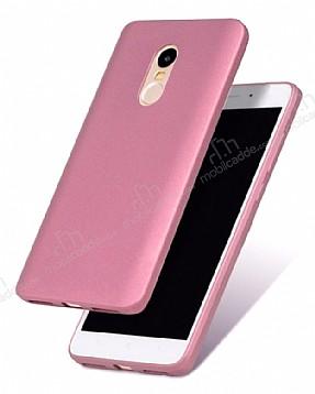 Xiaomi Redmi Note 4 / Redmi Note 4X Mat Rose Gold Silikon Kılıf