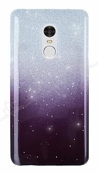 Xiaomi Redmi Note 4 Simli Siyah Silikon Kılıf