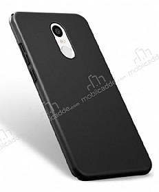 Xiaomi Redmi Note 4 / Redmi Note 4X Tam Kenar Koruma Siyah Rubber Kılıf