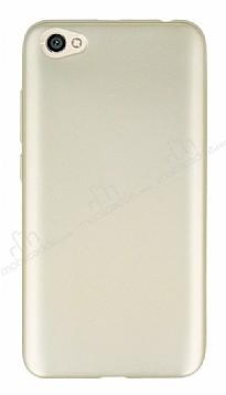 Xiaomi Redmi Note 5A Mat Gold Silikon Kılıf