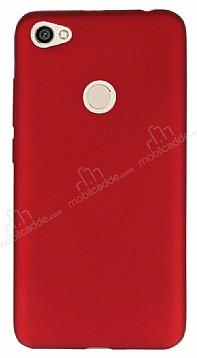 Xiaomi Redmi Note 5A Prime Mat Kırmızı Silikon Kılıf