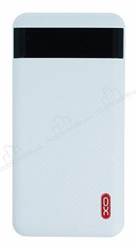 XO CF 10000 Dijital Göstergeli Powerbank Beyaz Yedek Batarya